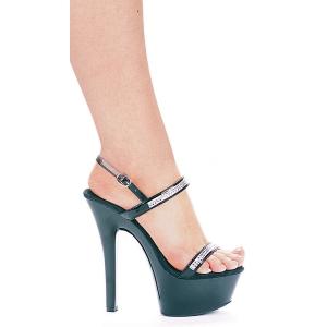 Shoe Diamond Bk Size 6