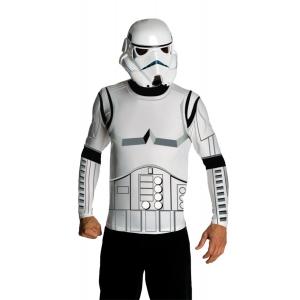 Stormtrooper Top Mask Adult Lg