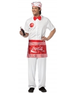 Soda Jerk Costume Adult