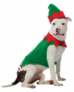 Pet Costume Elf Md