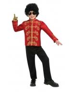 M Jackson Military Jacket Lg