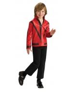 Mj Red Thriller Jckt Child Lg
