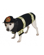 Pet Costume Firefighter Xlg