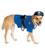 Pet Police Costume Medium