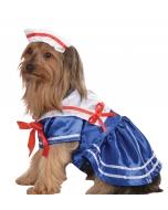 Pet Costume Sailor Girl Sm