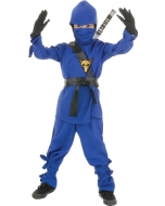 Ninja - Child Blue Medium