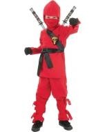 Ninja - Child Red Medium