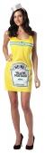 Heinz Mustard Bottle Dress