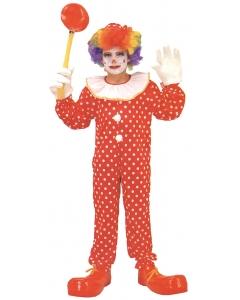 Clown Costume Dlx Child Medium