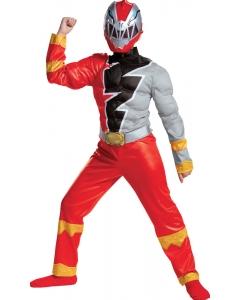 Red Ranger D Fury Musc 10-12