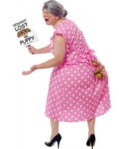 Lost Puppy Grandma Costume