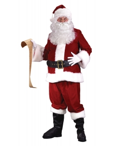 Santa Suit Ultra Vlvt Large