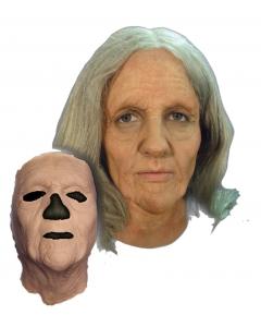 Prosthetic Old Woman Mask