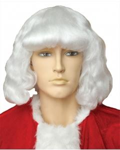 Santa Wig Yak 004Y White