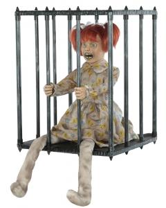 Caged Kid Walk Around Animated