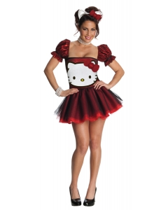 Hello Kitty Red Md Adult