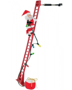 Climbing Santa Animated